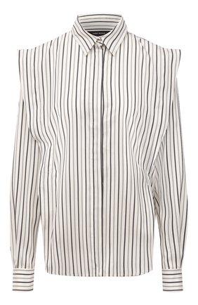 Женская шелковая блузка ISABEL MARANT серого цвета, арт. CH0791-21A018I/S0TALKI | Фото 1