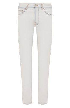 Мужские джинсы MARCELO BURLON белого цвета, арт. CMYA007F21DEN001 | Фото 1 (Длина (брюки, джинсы): Стандартные; Материал внешний: Хлопок; Силуэт М (брюки): Прямые; Стили: Кэжуэл; Кросс-КТ: Деним)