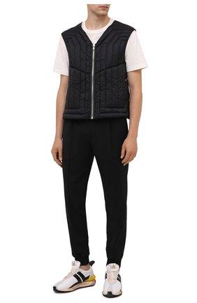 Мужской пуховый жилет RICK OWENS черного цвета, арт. RU02A5740/NZD1 | Фото 2