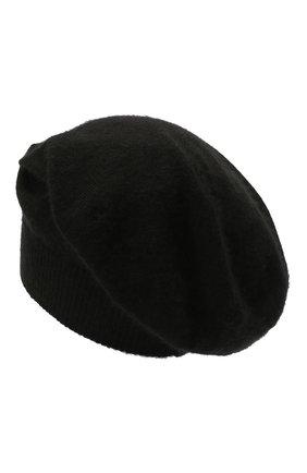 Мужская кашемировая шапка RICK OWENS черного цвета, арт. RU02A5493/WS   Фото 2