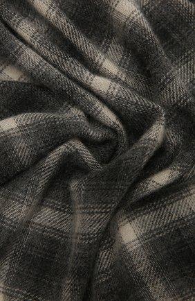 Мужской шарф из шерсти и кашемира ISABEL MARANT серого цвета, арт. EC0237-21A005J/DASH   Фото 2