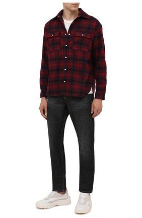 Мужская шерстяная рубашка ISABEL MARANT красного цвета, арт. CH0751-21A026H/RAYAL | Фото 2