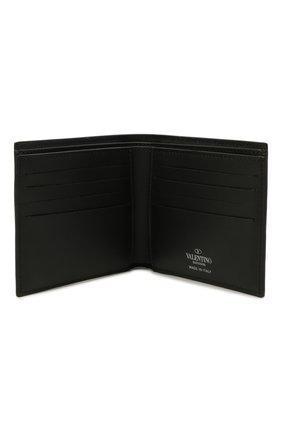Мужской кожаное портмоне VALENTINO черного цвета, арт. WY2P0654/GTC | Фото 3
