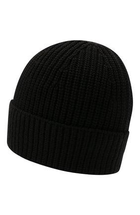 Мужская шерстяная шапка VALENTINO черного цвета, арт. WY2HB00R/RNM | Фото 2
