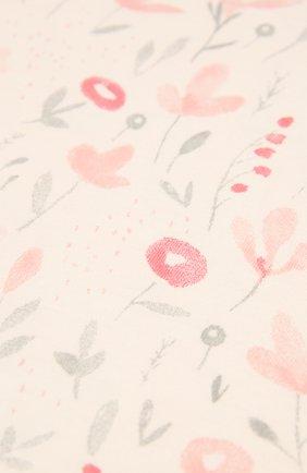 Детского хлопковая пеленка ADEN+ANAIS розового цвета, арт. ASWK10003 | Фото 2