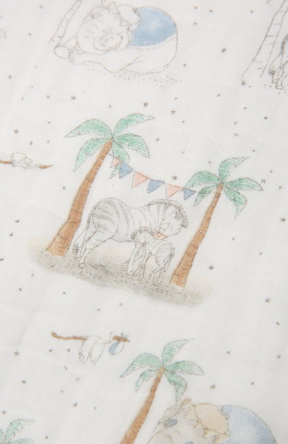 Детского комплект из трех полотенец ADEN+ANAIS разноцветного цвета, арт. AWCC30003DI | Фото 7 (Материал: Текстиль, Хлопок)