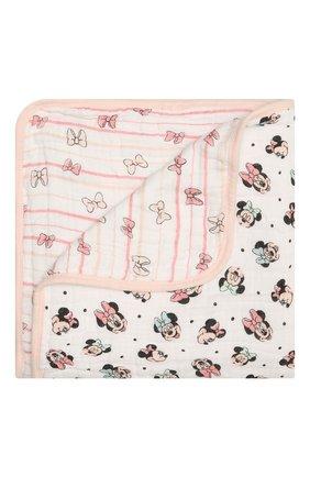 Детского хлопковое одеяло ADEN+ANAIS розового цвета, арт. EMBC10001DI | Фото 1