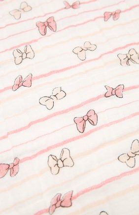 Детского хлопковое одеяло ADEN+ANAIS розового цвета, арт. EMBC10001DI | Фото 2