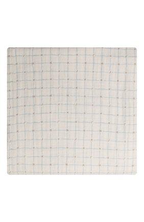 Детского комплект из четырех пеленок ADEN+ANAIS голубого цвета, арт. ASWC40006 | Фото 2