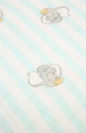 Детского хлопковое одеяло ADEN+ANAIS серого цвета, арт. EMBC10003DI | Фото 2