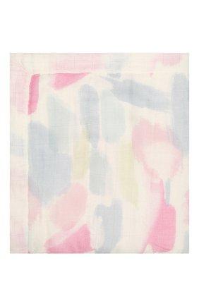 Детского хлопковое одеяло ADEN+ANAIS розового цвета, арт. ADBS10003 | Фото 2