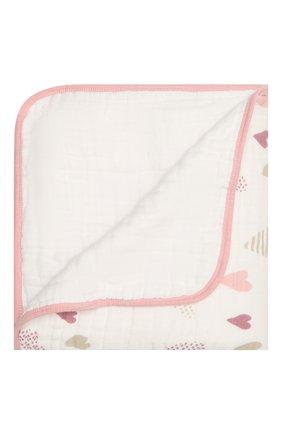 Детского одеяло ADEN+ANAIS белого цвета, арт. 6041 | Фото 1