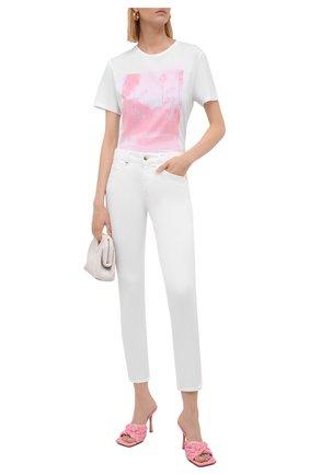 Женские джинсы BOSS белого цвета, арт. 50450547 | Фото 2