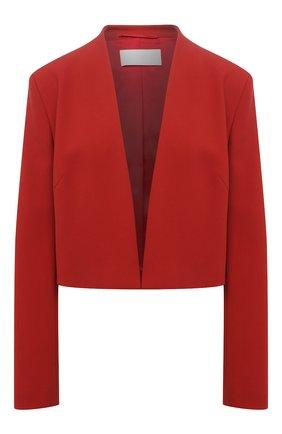 Женский жакет BOSS красного цвета, арт. 50454584 | Фото 1