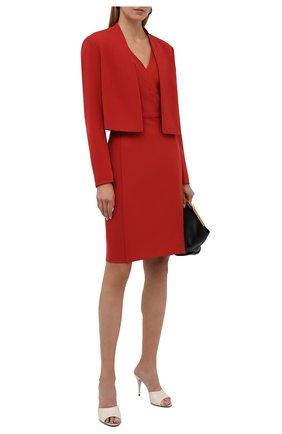 Женский жакет BOSS красного цвета, арт. 50454584 | Фото 2
