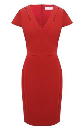 Женское платье BOSS красного цвета, арт. 50453558 | Фото 1