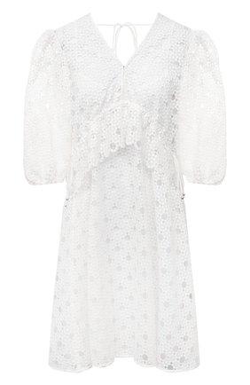 Женское платье HUGO белого цвета, арт. 50453280 | Фото 1