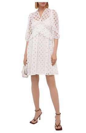 Женское платье HUGO белого цвета, арт. 50453280 | Фото 2