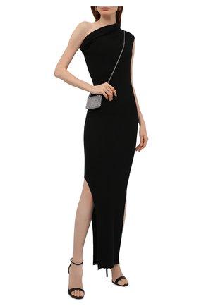 Женское кашемировое платье RICK OWENS черного цвета, арт. RP02A7627/RIBWS   Фото 2