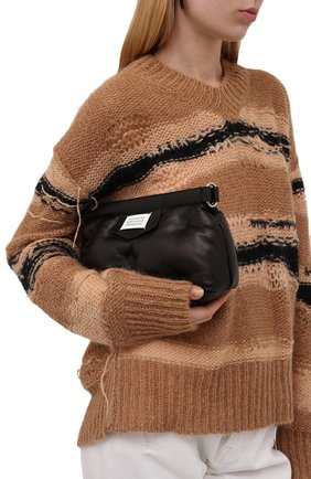 Женский клатч glam slam MAISON MARGIELA черного цвета, арт. S56WF0160/P4300   Фото 2