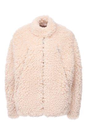 Женская куртка MM6 кремвого цвета, арт. S52AM0169/S53958   Фото 1