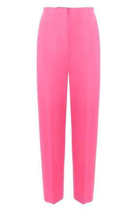 Женские брюки MM6 розового цвета, арт. S52KA0311/S53962   Фото 1