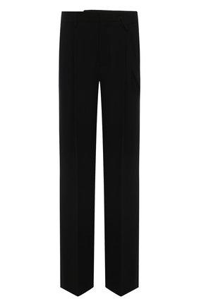 Женские брюки MM6 черного цвета, арт. S52KA0326/S53960   Фото 1