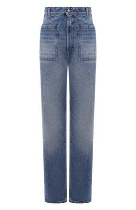 Женские джинсы MM6 голубого цвета, арт. S52LA0155/S30589   Фото 1