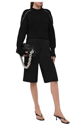 Женский свитер из шерсти и вискозы GIVENCHY черного цвета, арт. BW90CY4Z9W | Фото 2