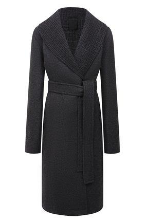 Женское шерстяное пальто GIVENCHY серого цвета, арт. BWC09213QY | Фото 1