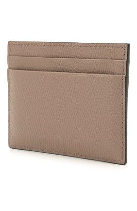 Женский кожаный футляр для кредитных карт VALENTINO темно-бежевого цвета, арт. WW2P0V32/SNP | Фото 2