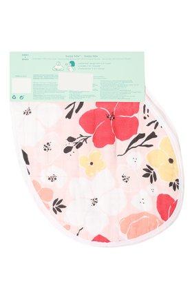 Детский комплект из двух нагрудников ADEN+ANAIS розового цвета, арт. ABBC20001 | Фото 2