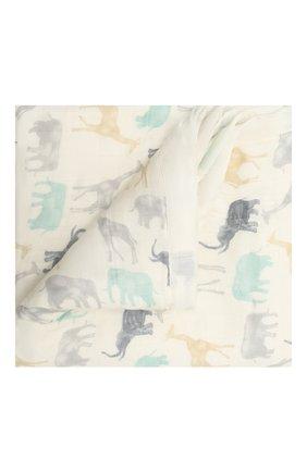 Детского хлопковое одеяло ADEN+ANAIS кремвого цвета, арт. ADBS10004 | Фото 1