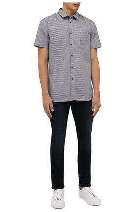 Мужские джинсы BOSS темно-синего цвета, арт. 50453250 | Фото 2