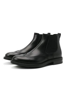 Мужские кожаные челси W.GIBBS черного цвета, арт. 3169004/0214 | Фото 1