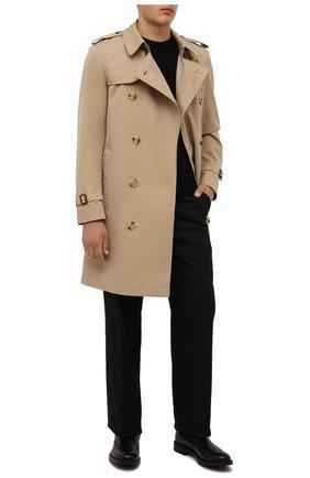 Мужские кожаные челси W.GIBBS черного цвета, арт. 3169004/0214 | Фото 2