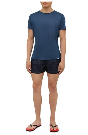 Мужские плавки-шорты LIMITATO темно-синего цвета, арт. B&B/SWIMTRUNKS | Фото 2