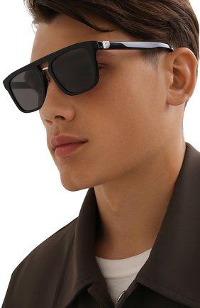Мужские солнцезащитные очки BERLUTI черного цвета, арт. BL 40025U | Фото 2