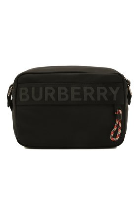 Мужская текстильная сумка BURBERRY черного цвета, арт. 8025669 | Фото 1