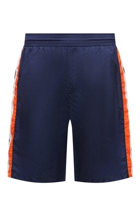 Мужские плавки-шорты GUCCI синего цвета, арт. 599576/XHADW | Фото 1
