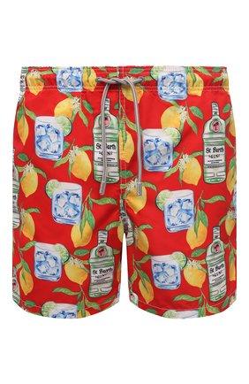 Мужские плавки-шорты MC2 SAINT BARTH красного цвета, арт. STBM GUSTAVIA/GUS0001 | Фото 1