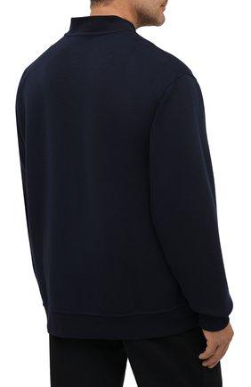 Мужской толстовка POLO RALPH LAUREN темно-синего цвета, арт. 711849528/PRL BS   Фото 4 (Big sizes: Big Sizes; Рукава: Длинные; Мужское Кросс-КТ: Толстовка-одежда; Материал внешний: Синтетический материал, Хлопок; Длина (для топов): Удлиненные; Стили: Спорт-шик)