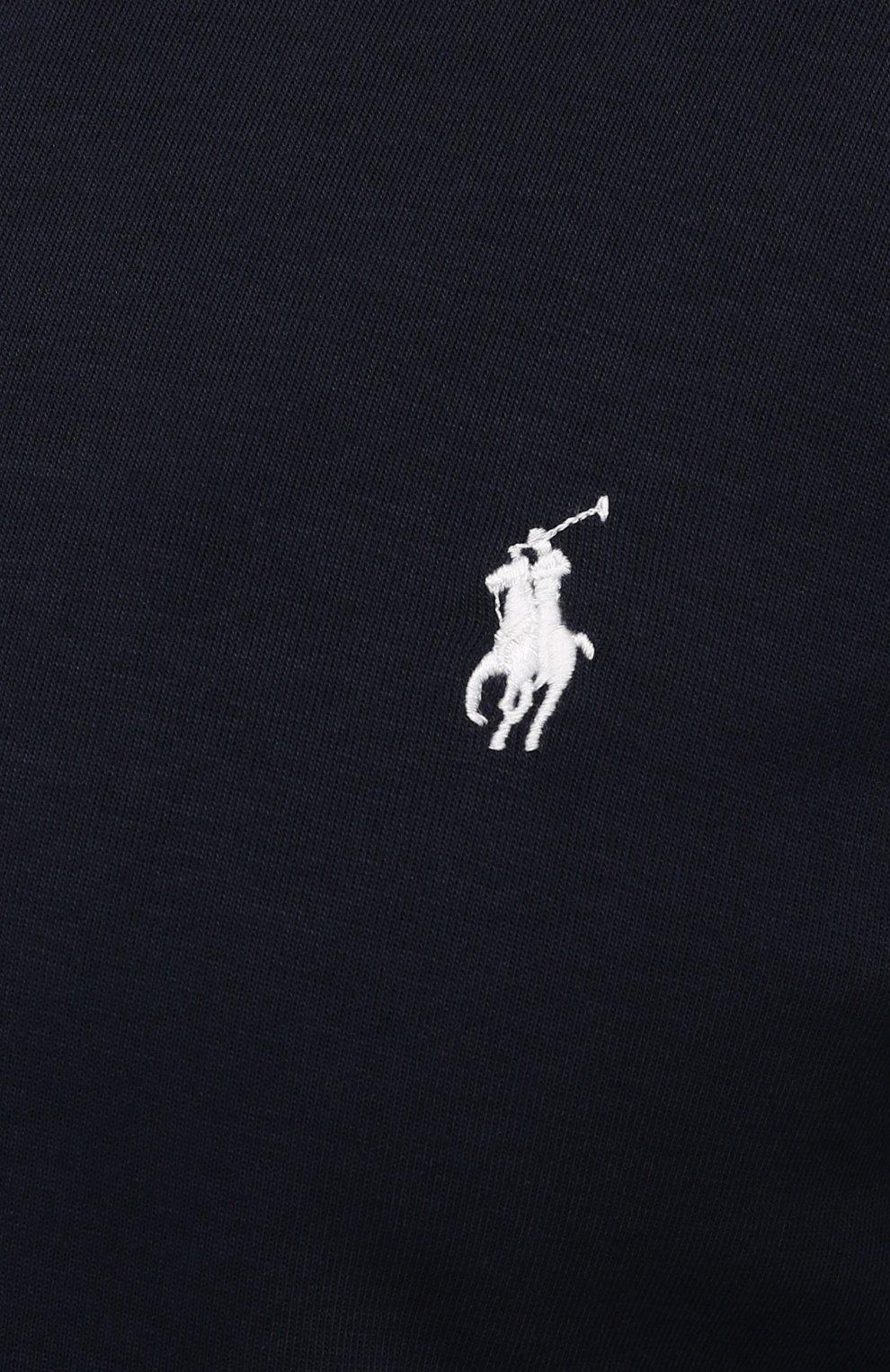 Мужской толстовка POLO RALPH LAUREN темно-синего цвета, арт. 711849528/PRL BS   Фото 5 (Big sizes: Big Sizes; Рукава: Длинные; Мужское Кросс-КТ: Толстовка-одежда; Материал внешний: Синтетический материал, Хлопок; Длина (для топов): Удлиненные; Стили: Спорт-шик)