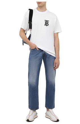 Мужские джинсы MAISON MARGIELA синего цвета, арт. S50LA0189/S30561 | Фото 2