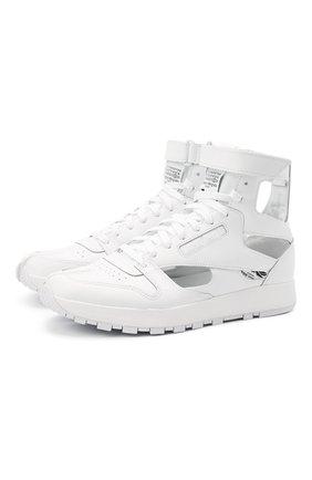 Мужские кроссовки tabi maison margiela x reebok classic MAISON MARGIELA белого цвета, арт. S37WS0569/P4241 | Фото 1