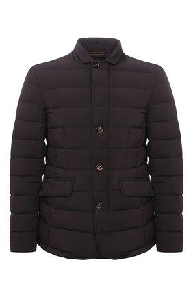 Мужская пуховая куртка zayn-kn MOORER темно-коричневого цвета, арт. ZAYN-KN/M0UGI100307-TEPA009 | Фото 1 (Материал подклада: Синтетический материал; Материал утеплителя: Пух и перо; Материал внешний: Синтетический материал; Кросс-КТ: Куртка; Рукава: Длинные; Длина (верхняя одежда): Короткие; Мужское Кросс-КТ: пуховик-короткий; Стили: Классический)