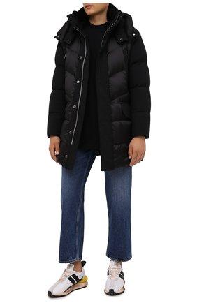 Мужская пуховик albert-shk MOORER черного цвета, арт. ALBERT-SHK/M0UPA100013-TEPA206 | Фото 2 (Материал внешний: Синтетический материал; Материал утеплителя: Пух и перо; Материал подклада: Синтетический материал; Длина (верхняя одежда): До середины бедра; Рукава: Длинные; Кросс-КТ: Куртка; Мужское Кросс-КТ: пуховик-короткий; Стили: Кэжуэл)