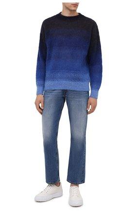 Мужской свитер ISABEL MARANT темно-синего цвета, арт. PU1275-21A054H/DRUSSELLH | Фото 2