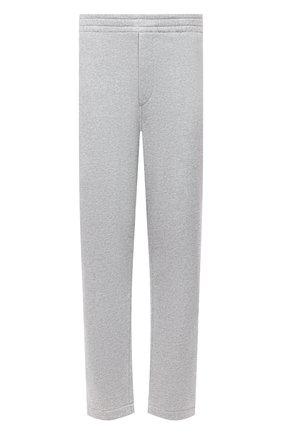 Мужские хлопковые брюки ISABEL MARANT светло-серого цвета, арт. PA2012-21A033H/MAILEJ0 | Фото 1