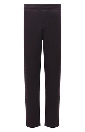 Мужские хлопковые брюки ISABEL MARANT темно-коричневого цвета, арт. PA2012-21A033H/MAILEJ0 | Фото 1